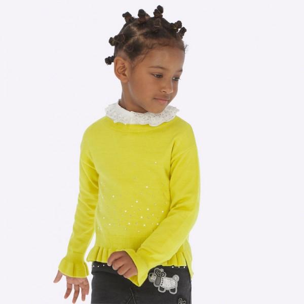Пуловер с камъчета